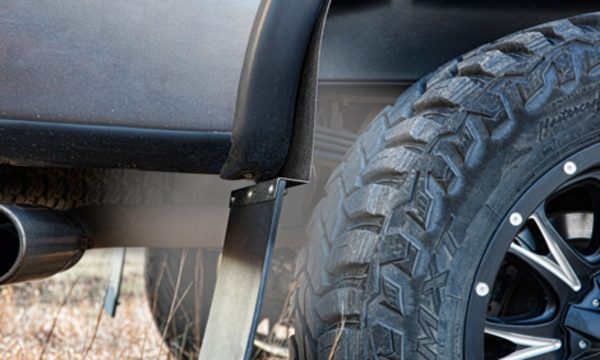 Mud Flaps For Lifted Trucks >> Kickback Truck Mud Flaps Mud Flaps For Big Tires Husky Liners