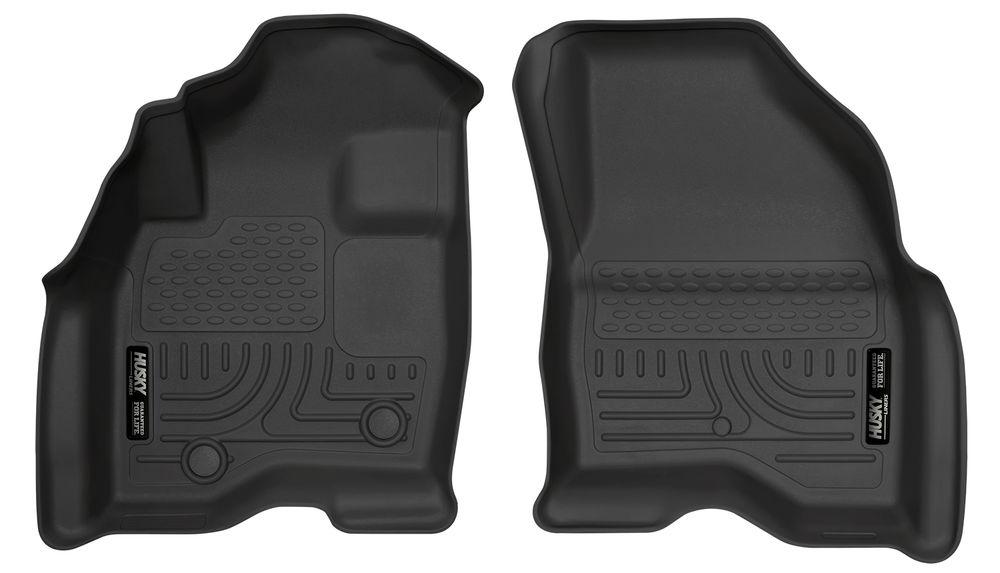 2017 Ford Explorer Change Front Floor Liners Black View Larger