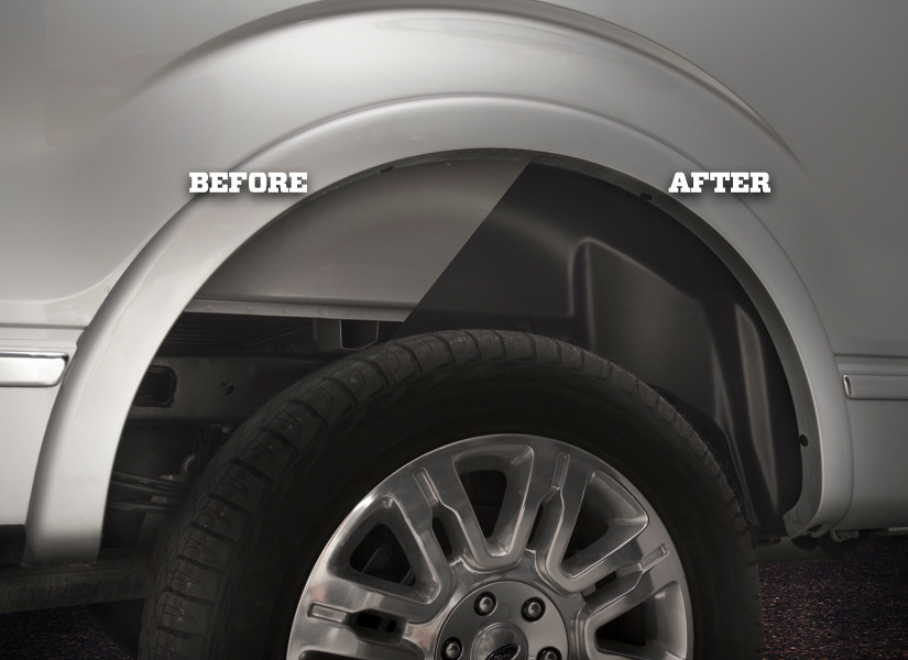 Spray In Bedliner Cost F150 >> Wheel Well Liners Keep Your Truck Protected - Husky Liners®