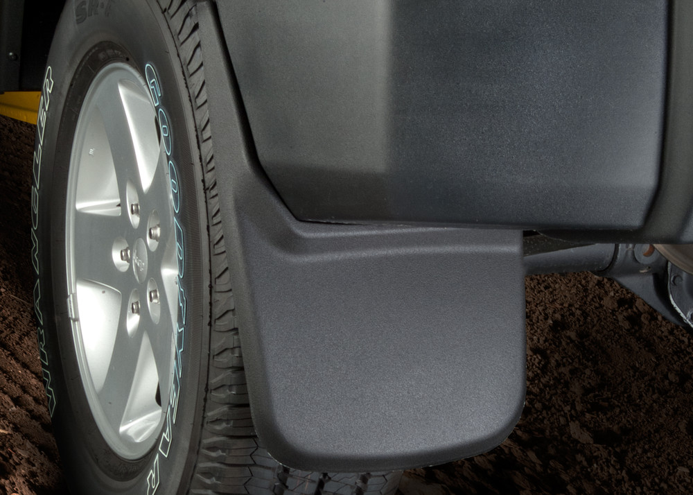 Husky Front /& Rear Mud Guards w//Rear Wheel Well Guards for 07-13 Chevy Silverado