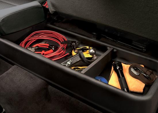 2010 Chevrolet Avalanche Truck Storage Box Back Seat
