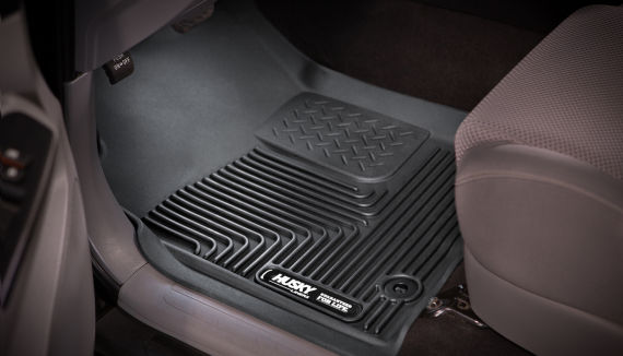 The Ultimate Floor Protection For The Toyota Tacoma Husky Liners