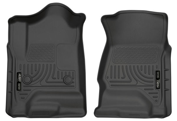 Husky Liners Front /& 2nd Seat Floor Liners Fits 14-18 Silverado//Sierra Crew Cab 98231
