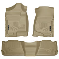 Front & 2nd Seat Floor Liners - Tan