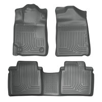 Front & 2nd Seat Floor Liners - Grey