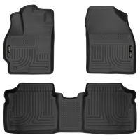 Front & 2nd Seat Floor Liners - Black