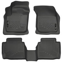 Husky Liners 99753 WeatherBeater Tan Front and 2nd Seat Floor Liner
