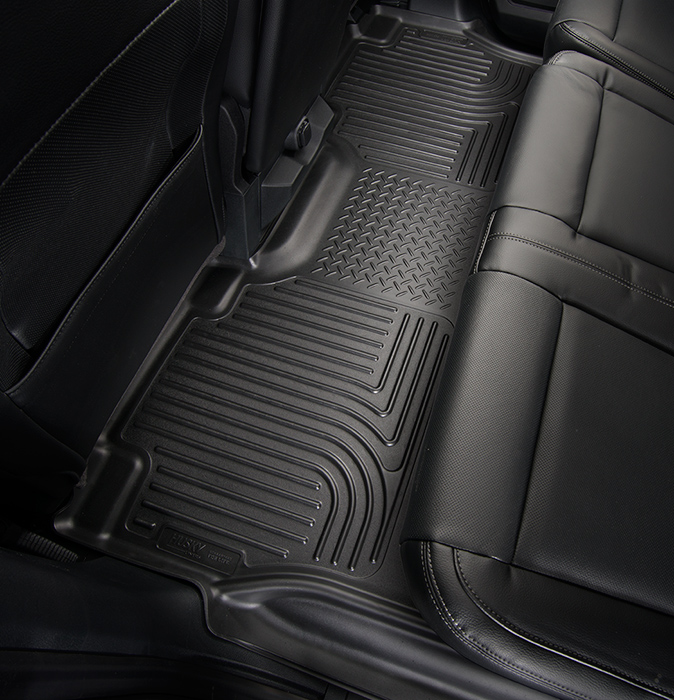 Lovely 2015 Ford F 150 SuperCrew U0026 SuperCab WeatherBeater Floor Liners | Husky  Liners