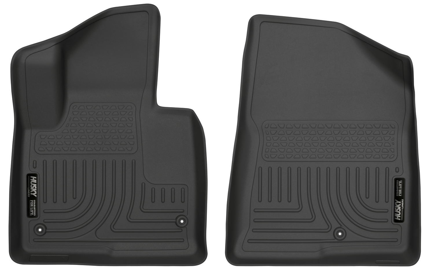 Husky 13851 Weatherbeater Front Floor Liner For 2013 2018