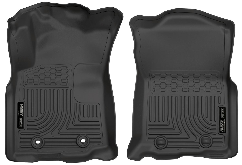 Husky Liners 13961 Weatherbeater Front Floor Liners Black