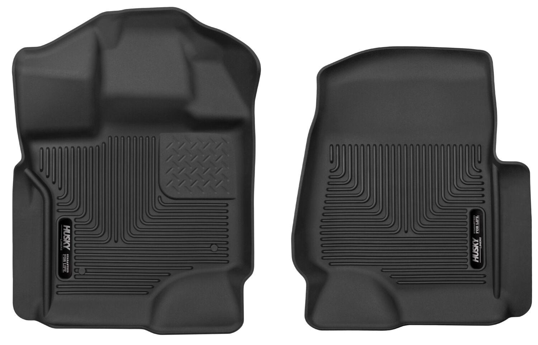 husky weatherbeater all weather floor mats for ford f 150. Black Bedroom Furniture Sets. Home Design Ideas