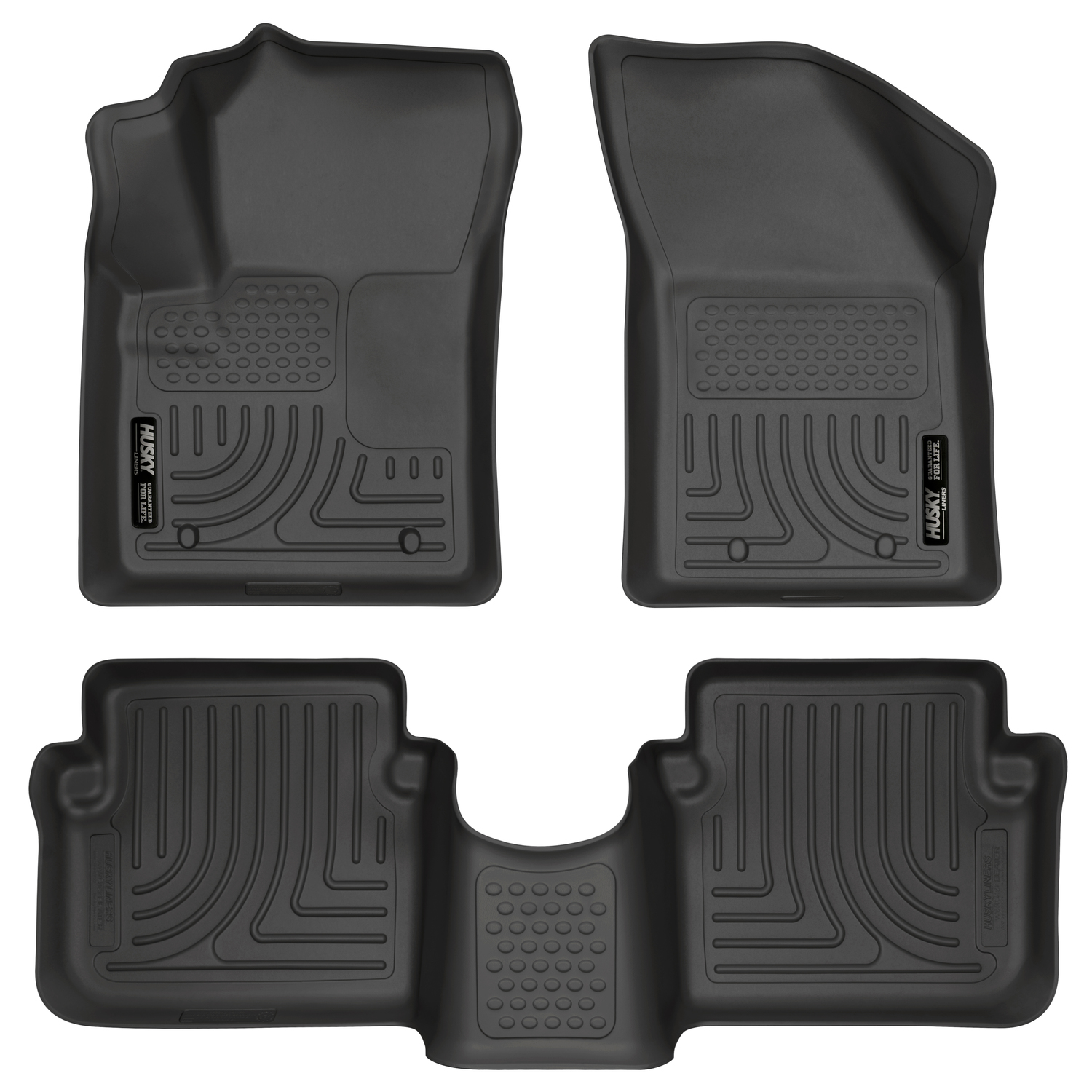 Husky Weatherbeater All Weather Floor Mats For Chrysler