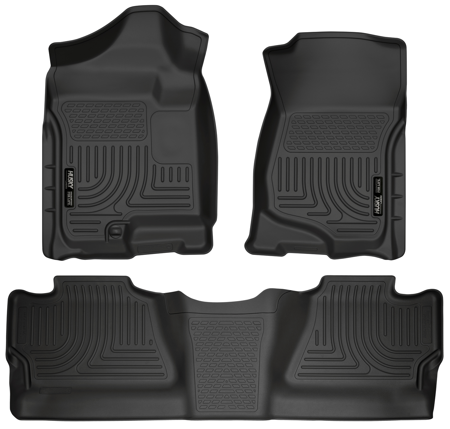 Husky Weatherbeater All Weather Floor Mats Liners Fit 07