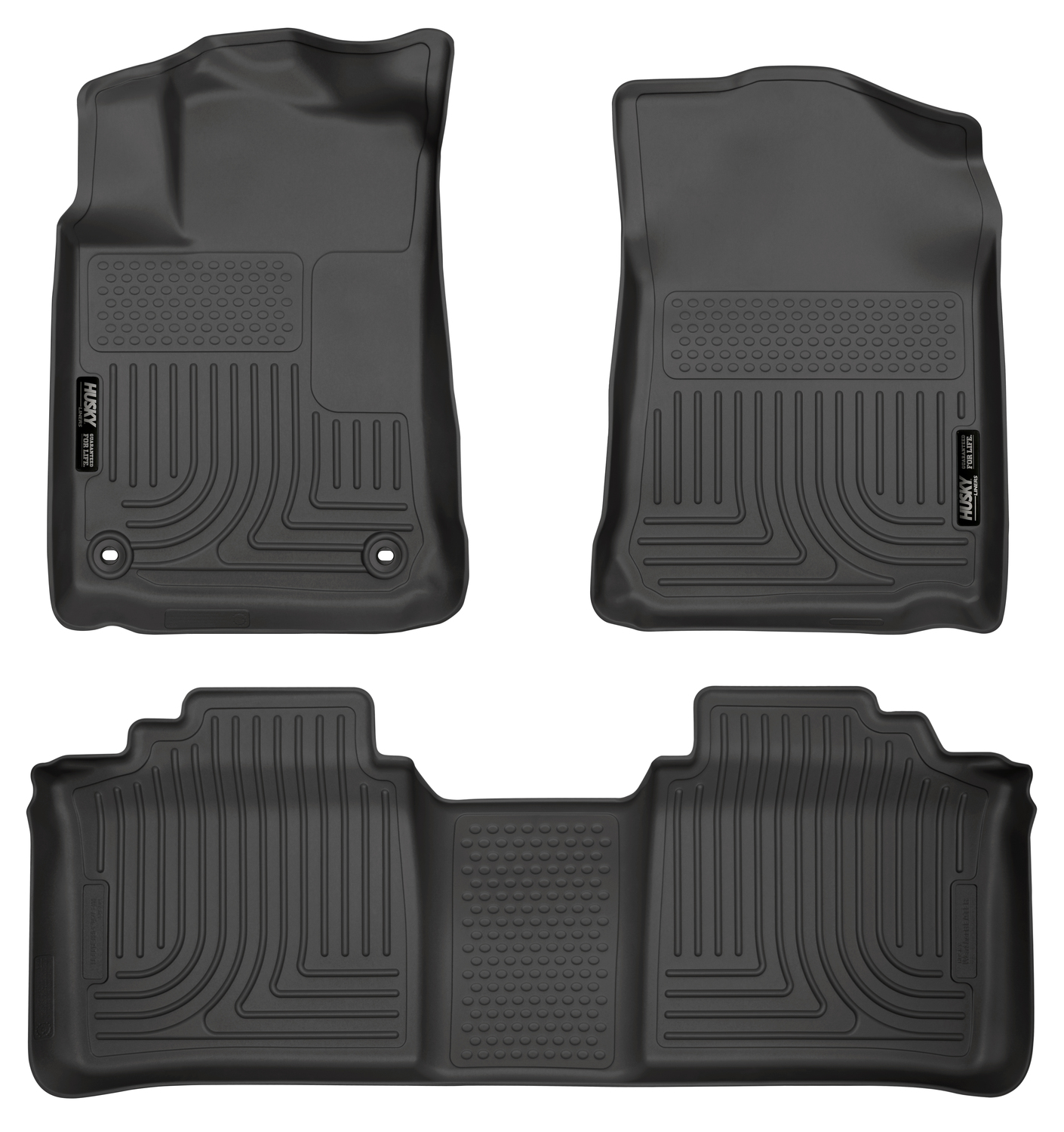 2014 Toyota Avalon Xle Premium: Husky Liners 98501 Weatherbeater Series Floor Liners 2013