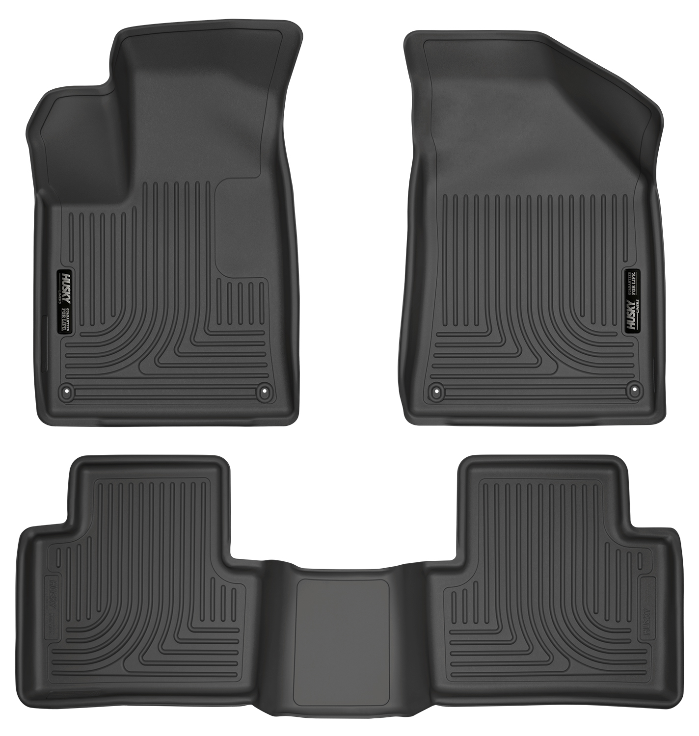 Husky Weatherbeater All Weather Floor Mats For 2015-2016
