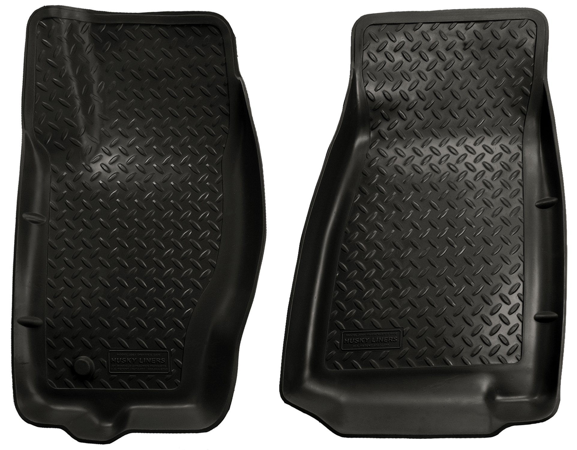Husky Liners Classic 2005 2010 Jeep Grand Cherokee Front